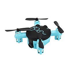 Dron FQ777 FQ04 4 Canales 6 Ejes Con la cámara de 0,3 MP HD Iluminación LED Modo De Control Directo Con CámaraQuadcopter RC Mando A