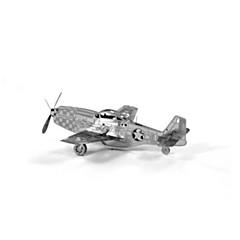 abordables Puzzles 3D-Puzzles 3D Juguetes de construcción Juguetes Aeronave Acero inoxidable Unisex Piezas