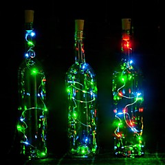 cheap LED Novelty Lights-1pc Wine Bottle Stopper LED Night Light Atmosphere Lamp Decoration