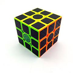 cheap Magic Cubes-Rubik's Cube 3*3*3 Smooth Speed Cube Magic Cube Puzzle Cube Matte Sticker Plastics Carbon Fiber Square Gift