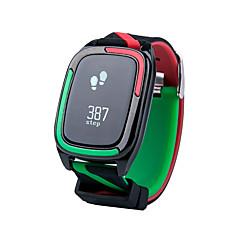 preiswerte Digitaluhren-Herrn Sportuhr / Militäruhr / Smartwatch Chinesisch Herzschlagmonitor / Wasserdicht / Kreativ Silikon Band Charme / Modisch / Kleideruhr Mehrfarbig / Schrittzähler / Tachometer / Fitness Tracker