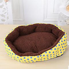Perro Camas Mascotas Colchonetas y Cojines Lunares Amarillo Azul Rosa Para mascotas