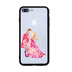 Недорогие Кейсы для iPhone 5-Кейс для Назначение Apple iPhone 7 Plus iPhone 7 С узором Кейс на заднюю панель Плитка Твердый Акрил для iPhone 7 Plus iPhone 7 iPhone 6s