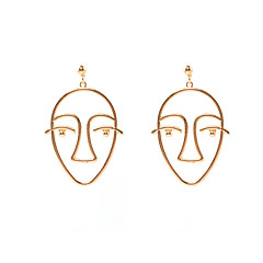cheap Earrings-Women's Drop Earrings Hiphop Alloy Geometric Jewelry For Birthday Gift Casual Christmas Date