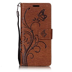For SONY Xperia XA XZ Case Cover The Embossing PU Leather Cases for SONY Xperia E5