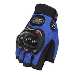 Γάντια για Δραστηριότητες/ Αθλήματα Γιούνισεξ Γάντια ποδηλασίας Γάντια ποδηλασίας Προστατευτικό Χωρίς Δάχτυλα Δερμάτινο Γάντια ποδηλασίας