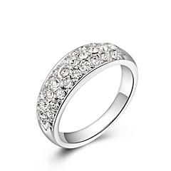 preiswerte Ringe-Damen Statement-Ring - Aleación Modisch Eine Größe Weiß Für Hochzeit Büro & Karriere