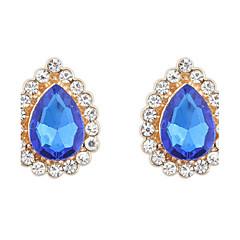 Dames Oorknopjes Druppel oorbellen Ring oorbellen Bergkristal imitatie Opal Basisontwerp Uniek ontwerp Logostijl Bergkristallen
