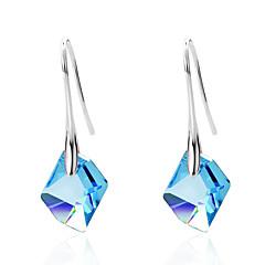 preiswerte Ohrringe-Damen - Krystall Personalisiert, Modisch, Euramerican Purpur / Rot / Hellblau Für Hochzeit Party Jahrestag