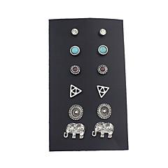 Dames Oorknopjes Basisontwerp Kostuum juwelen Legering Sieraden Voor Causaal