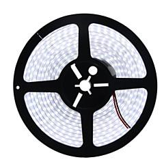 72W Ευέλικτες LED Φωτολωρίδες 6950-7150 lm DC12 V 5 m 600 leds Θερμό Λευκό Λευκό