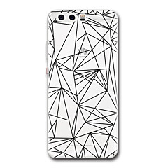 For Huawei P10 P9 Case Cover Transparent Pattern Back Cover Case Geometric Pattern Soft TPU for Huawei P10 Plus P9 Lite P9 Plus P8 P8 Lite