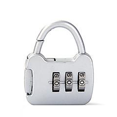 0000 çinko alaşımlı asma kilit asma kilit 3 haneli şifre hırsız mini bagaj çantası bagaj muhafaza kilidi gümrük kilidi dail lock şifre