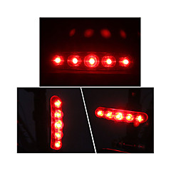cheap -Rear Bike Light LED Cycling Outdoor AAA Lumens Battery Red Cycling/Bike