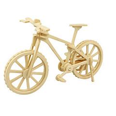 رخيصةأون -قطع تركيب3D تركيب النماذج الخشبية ديناصور طيارة الدراجة 3D اصنع بنفسك خشبي خشب كلاسيكي 6 سنوات فما فوق