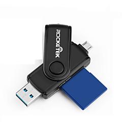 お買い得  メモリカード-Rocketek MicroSD / MicroSDHC / MicroSDXC / TF SD / SDHC / SDXC OTG USB 3.0 USB-A カード読み取り装置 Andriod携帯電話用