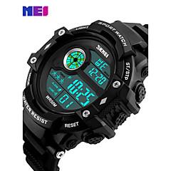 Χαμηλού Κόστους Δέρμα-Ανδρικά Αθλητικό Ρολόι Στρατιωτικό Ρολόι Ρολόι Φορέματος Έξυπνο ρολόι Μοδάτο Ρολόι Ρολόι Καρπού Μοναδικό Creative ρολόι Ψηφιακό ρολόι