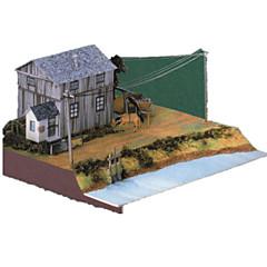 voordelige -3D-puzzels Papierkunst Huis 3D Simulatie DHZ Hard Kaart Paper Klassiek Unisex Geschenk