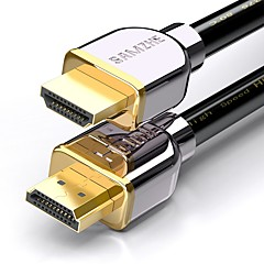 HDMI 2.0 Kaapeli, HDMI 2.0 to HDMI 2.0 Kaapeli Uros - Uros Kullattu kupari 5.0m (16ft)