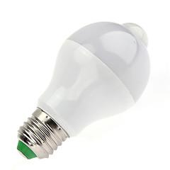 preiswerte LED-Birnen-7W 650lm B22 Smart LED Glühlampen A60(A19) 14pcs LED-Perlen SMD 5730 Infrarot-Sensor Lichtsteuerung Menschlicher Körper Sensor Warmes