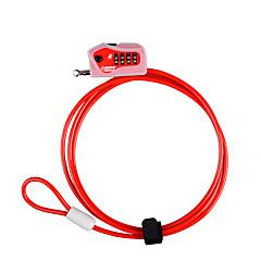 Kuasu rl645 cink ötvözet négy jelszó digitális jelszó lock kerékpár zár dail lock password lock