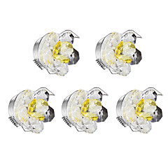 cheap Indoor Lights-1 W LED Beads Dimmable LED Downlights Warm White 220 V