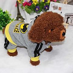 billige Hundetøj og tilbehør-Hund Hættetrøjer Jumpsuits Hundetøj Sport Amerikansk / USA Kostume For kæledyr