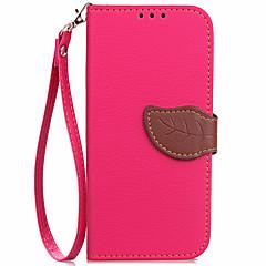 voordelige Hoesjes / covers voor Nokia-Hoesje voor Nokia Lumia 650 630 case kaarthouder portemonnee met tribune flip full bodycase solide kleur hard pu leer voor lumia 730 520