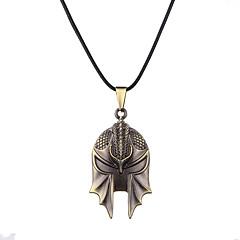 preiswerte Halsketten-Herrn / Damen Logo Anhängerketten  -  Personalisiert, Einzigartiges Design, Anhänger Stil Bronze Modische Halsketten Für Party, Geschäft, Alltag
