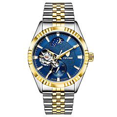 Ανδρικά Αθλητικό Ρολόι Διάφανο Ρολόι Μοδάτο Ρολόι μηχανικό ρολόι Αυτόματο κούρδισμα Ημερολόγιο Ανθεκτικό στο Νερό Φωτίζει Νυχτερινή λάμψη