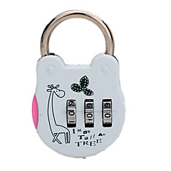 114 skuffe&Kabinet lås adgangskode oplåsning 3 cifret adgangskode dail lås adgangskode lås