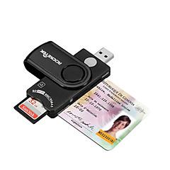 SIM Card SD/SDHC/SDXC MicroSD/MicroSDHC/MicroSDXC/TF USB 2.0 USB Kortinlukija