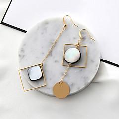 preiswerte Ohrringe-Damen Nicht übereinstimmend / Lang Tropfen-Ohrringe - Hülle Modisch, Euramerican Gold Für Party
