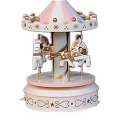 Piłeczki Music Box Zabawki Artykuły do umeblowania Konik Karuzela Tworzywa sztuczne Drewniany Sztuk Dla obu płci Urodziny Prezent