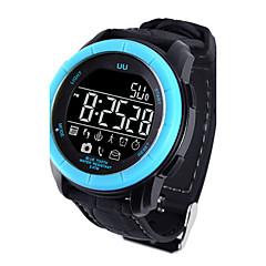 abordables Relojes de Bolsillo-Hombre Reloj Deportivo Reloj Militar Reloj elegante Digital 30 m Resistente al Agua Despertador Calendario Silicona Banda Digital Encanto Lujo Brazalete Múltiples Colores - Negro Naranja Azul
