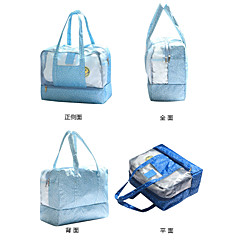 Travel Bag Waterproof Pouch Beach Bag Waterproof Including Water Bladder for Clothes PVC Oxford Cloth 36*29*18