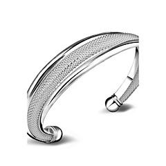 preiswerte Armbänder-Damen Manschetten-Armbänder - versilbert Modisch Armbänder Silber Für Hochzeit / Besondere Anlässe / Alltagskleidung