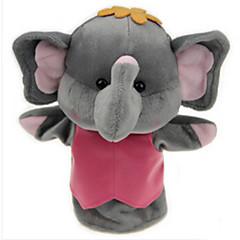 Plüschtiere Puppen Bildungsspielsachen Fingerpuppe Spielzeuge Rabbit Elefant Bär Tiger Tiere Kind Stücke