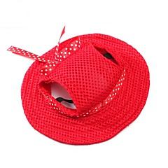 abordables Regalos para Amantes de Mascotas-Gato Perro Accesorios para el Pelo Bandanas y Sombreros Navidad Ropa para Perro Un Color Naranja Morado Rojo Azul Rosa Tejido Disfraz