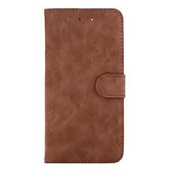 Для iphone 7 плюс / iphone 7 чехол для карточек с чехлом для карточек с подставкой для всего корпуса с твердой твердой натуральной кожей