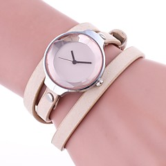 preiswerte Tolle Angebote auf Uhren-Damen Armband-Uhr Chinesisch Schlussverkauf PU Band Retro / Freizeit / Modisch Schwarz / Weiß / Blau / Ein Jahr / TY 377A