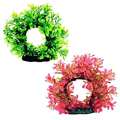 tanie -Dekoracja Aquarium Kwiaty