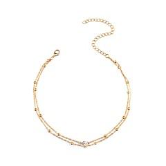 preiswerte Halsketten-Damen Halsketten - Diamantimitate Personalisiert, Modisch Gold, Silber Modische Halsketten Schmuck Für Alltag, Normal, Verabredung