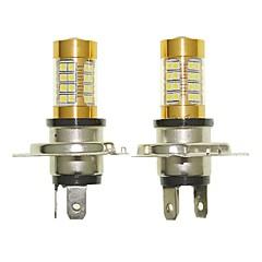 Sencart 2pcs h4 p43t lâmpada piscante led carro cauda volta lâmpadas de luz de luz reversa (branco / vermelho / azul / branco morno) (dc /