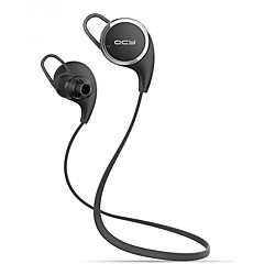 QCY QY8 Mini Wireless Stereo Sports Running Bluetooth Earbuds Headphones Headset (White & Black)