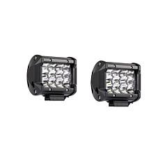 abordables Iluminación para Vehículos Industriales-2pcs Coche Bombillas 36W SMD 3030 7200lm LED Luz de Trabajo