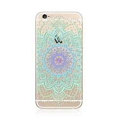 Чехол для iphone 7 плюс 7 обложка прозрачный узор задняя крышка чехол кружево печать мандала мягкая tpu для apple iphone 6s плюс 6 плюс 6s