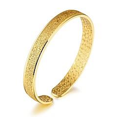 preiswerte Armbänder-Damen Kubikzirkonia Manschetten-Armbänder - Zirkon, vergoldet, Rose Gold überzogen Luxus, Grundlegend, Modisch Armbänder Gold Für Weihnachten Hochzeit Party