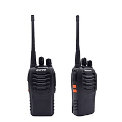 2pcs walkie talkie baofeng bf-888s 16ch uhf 400-470mhz baofeng 888s ham radio hf transceiver amador draagbare