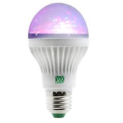 1W E27 LED Globe Bulbs 5 leds SMD RGB 100-150lm 2800-3200/6000-6500K AC 85-265V